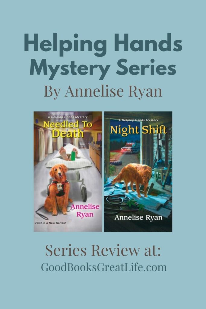 A Helping Hands Mystery Series by Annelise Ryan