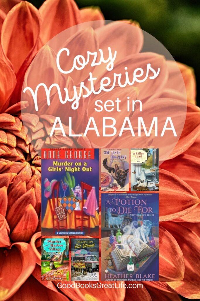 Cozy Mysteries set in Alabama
