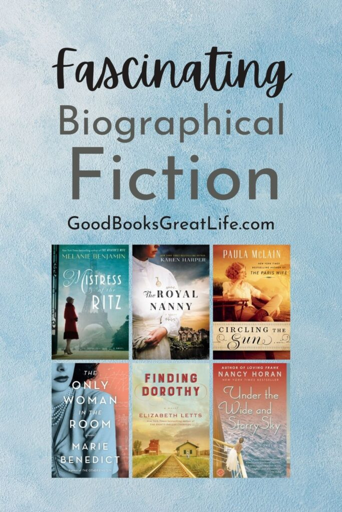 Biographical fiction recommendations