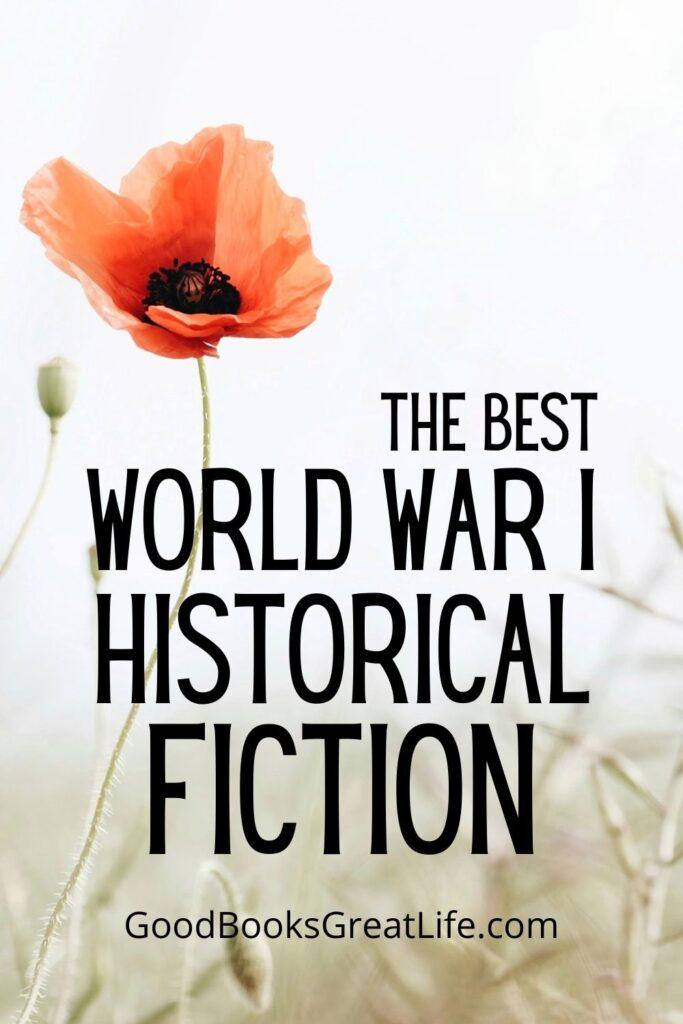 World War I Historical Fiction Books