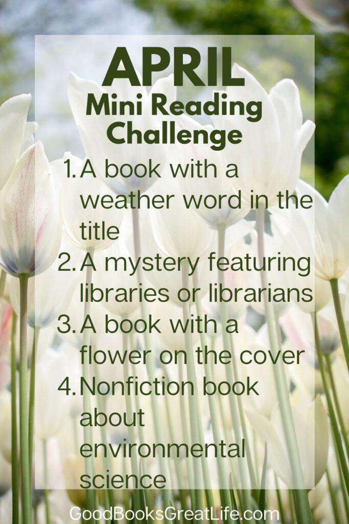 April Reading Challenge