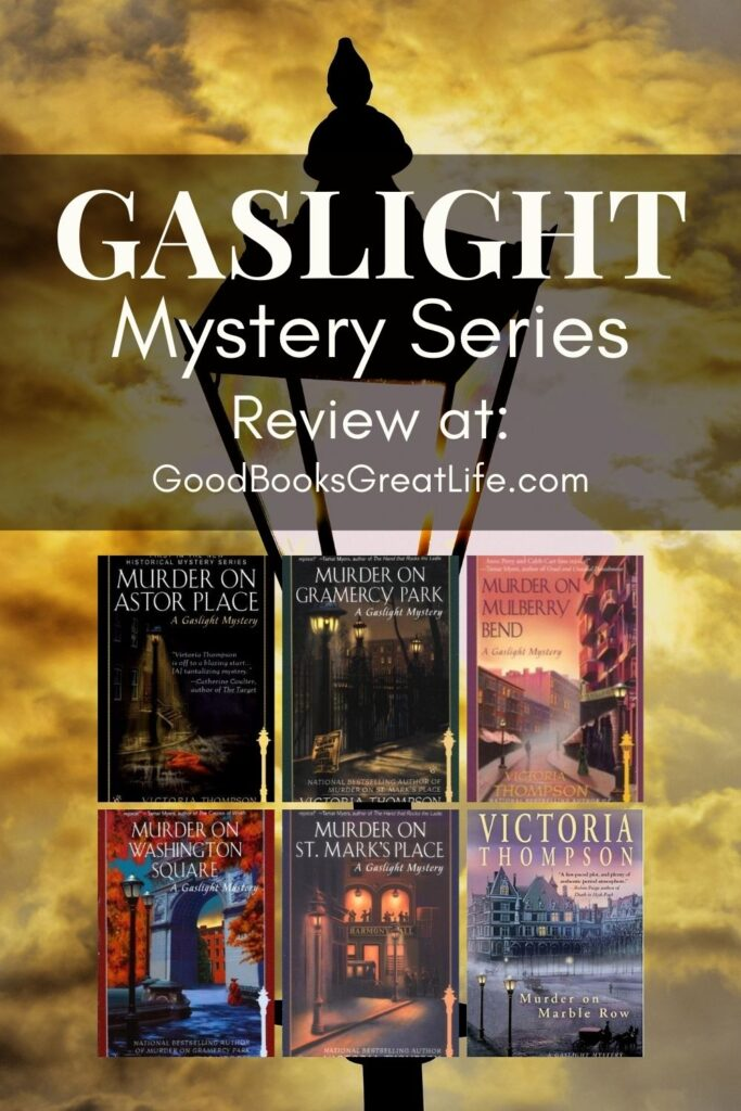 Gaslight Mystery Series by Victoria Thompson
