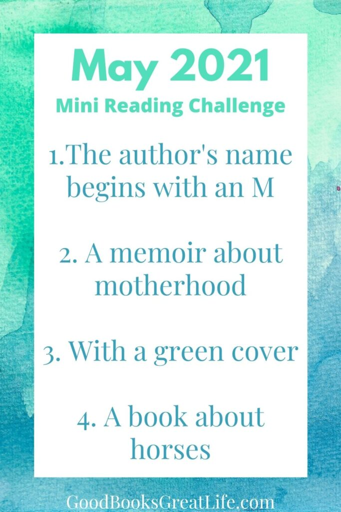 May 2021 Reading Challenge