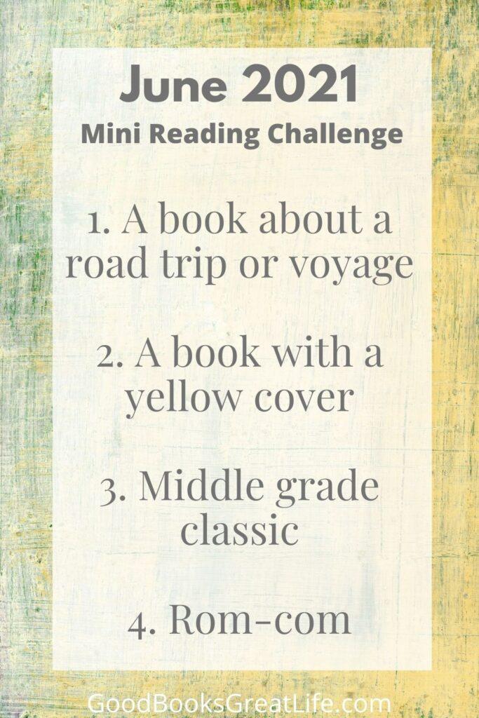 June Reading Challenge Prompts