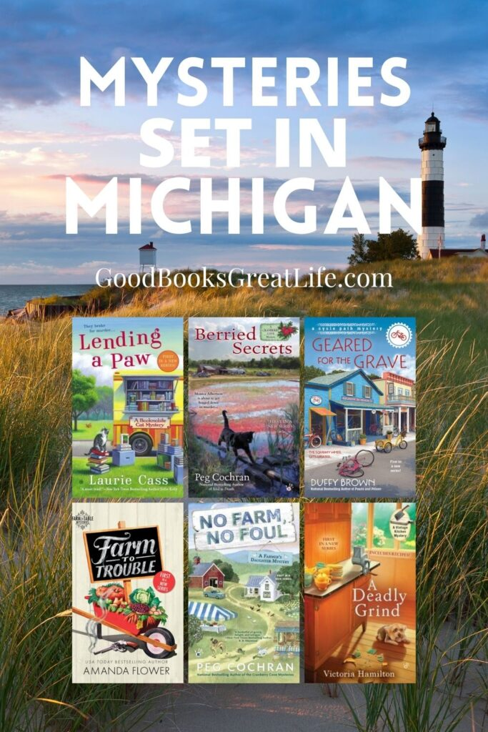 Cozy Mysteries Set in Michigan